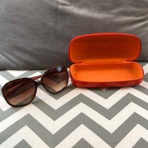 Coach sunglasses never worn